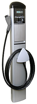 a charging point for electric vehicles