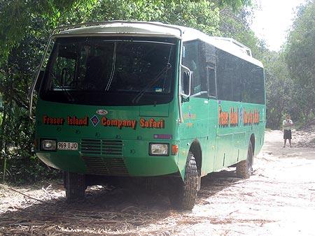 Fraser Island bus