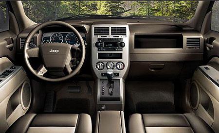 2007 Jeep Patriot. Jeep Patriot interior