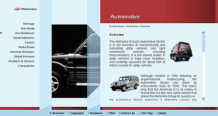 Mahindra automotive