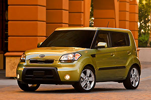 Kia Soul - top small car for safety in the US