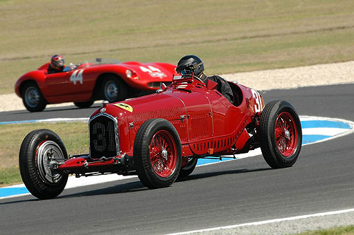 This superb 1931 Alfa Romeo P3 Tipo B will be racing at Phillip Island