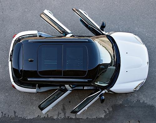 A four-door BMW MINI
