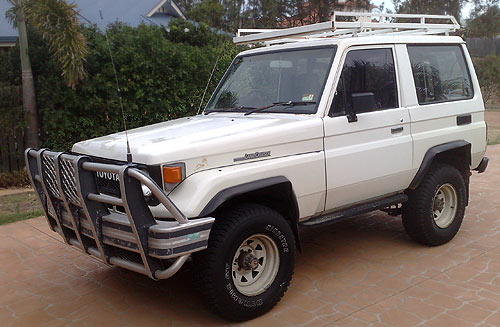 It's hard to believe that even in 20 years a beast like this could morph into today's Toyota Prado SX