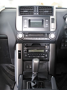 All controls in the centre stack are within easy reach