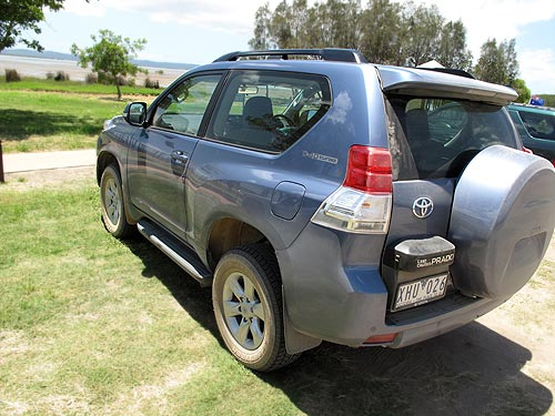 The new Toyota Prado is selling well but our short-wheel base model still attracted a lot of interest on the Fraser Coast