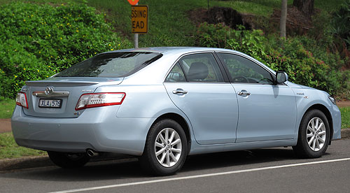 If you like to be noticed then the Toyota Hybrid Camry does attract lots of interest.