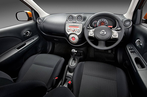 The interior of the new Nissan Micra was designed in Japan ... I guess it shows.