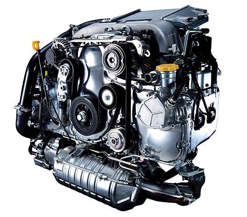 Subaru Forester 2.0D Euro model engine.