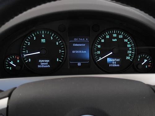 Unfortunately the reflection on the right-hand side of the dash is there all the time.