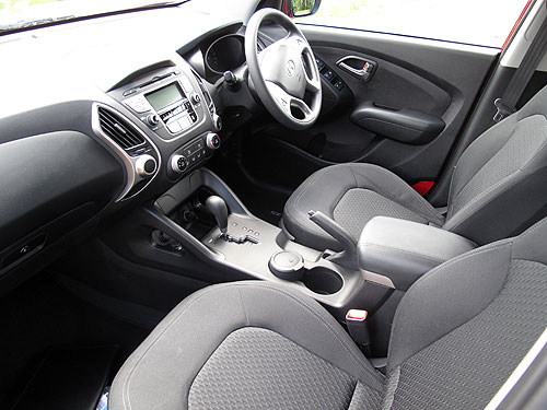 Look at the front cupholder between the seats - that's the ashtray sitting in there.