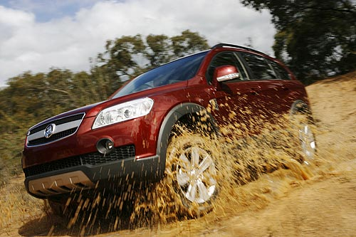 Views of all-wheel drive SUV's getting down and dirty can conjure up dreams of some tough off-roading but don't be fooled ... no all-wheel drive can go everywhere that a four-wheel drive can go. You can have fun in the dirt ... you just can't go everywhere in an SUV like the Holden Captiva.