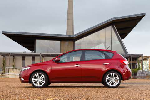 cerato-hatch-side. The new Kia Cerato Hatchback will also see the