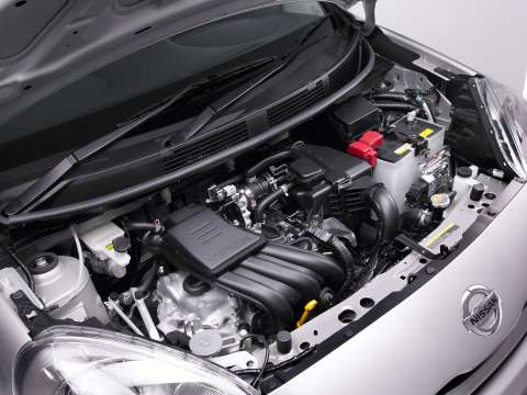 Nissan Micra ST engine