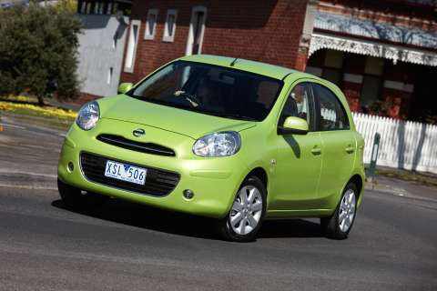 Top of the range Nissan Micra Ti