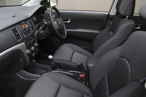 SsangYong-korando-interior. S Model Standard Features