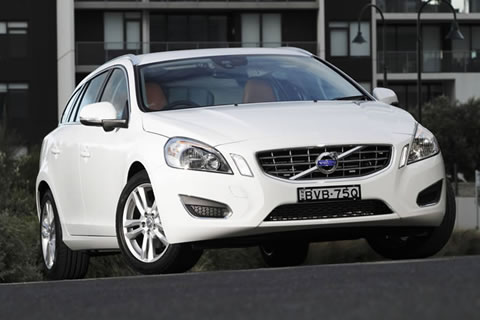 The new Volvo V60 T5 Sports Wagon