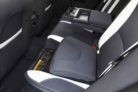 Two-stage child booster seats