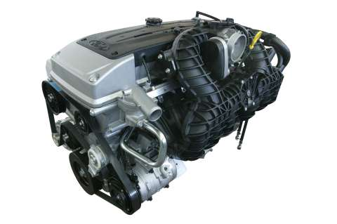 The 4.0-litre I6 in-line six-cylinder engine in the SZ Territory