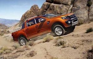 The new Ford Ranger ute
