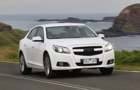 The Holden Malibu will hit the streets in late 2012 powered by a range of four-cylinder engines