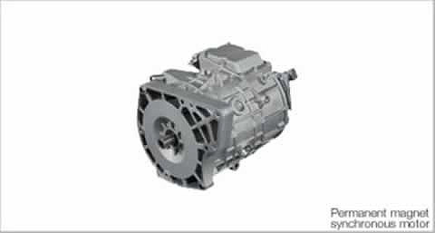 i-miev-electric-motor