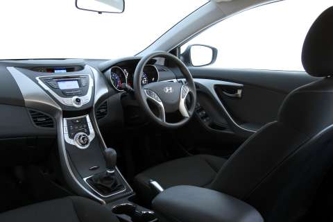 The Elantra Active interior