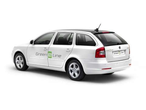 Skoda's firs electric car