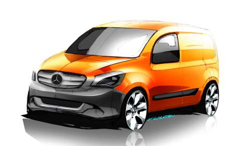 mercedes-benz new commercial vehicle