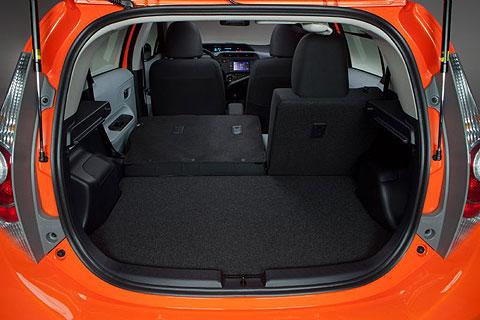 Toyota's latest hybrid - the Prius c