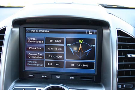 Fuel consumption figures for the Captiva 7 LX