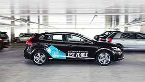 Autonomous driving - the car that parks iteself