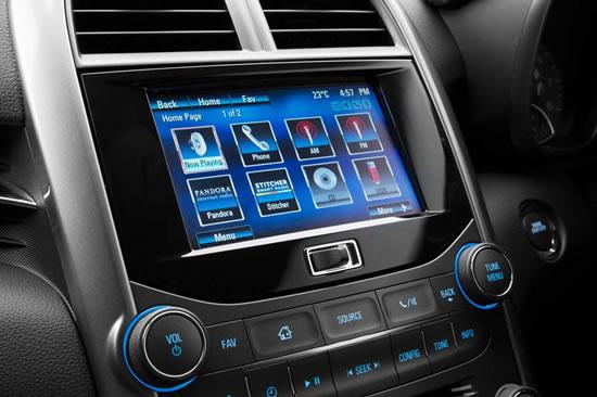 Holden MyLink Infotainment system