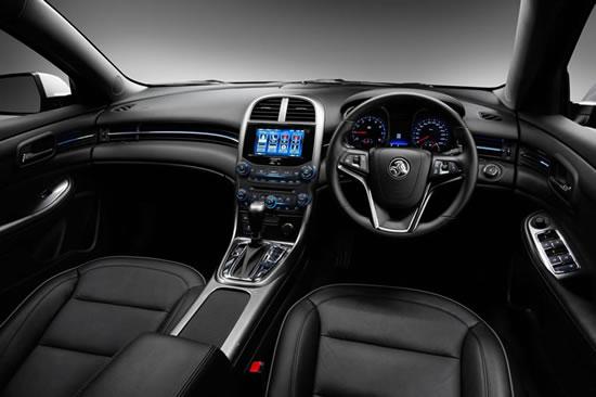 Holden Malibu dashboard
