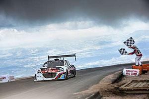 Peugeot wins at Pikes Peak