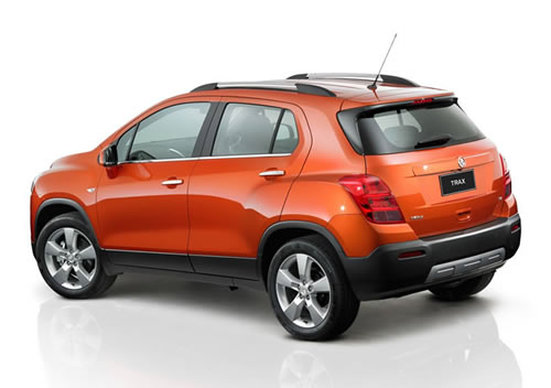 The rear of the Holden Trax