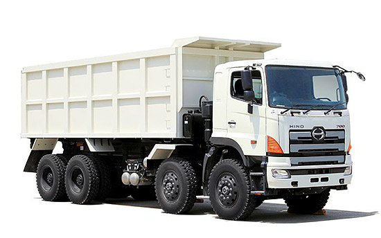 Hino heavy mine truck