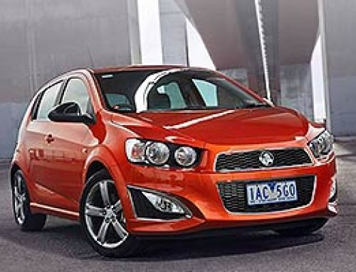 Holden Barina RS Hatch