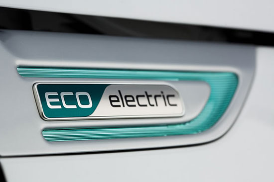 An electric car from Kia
