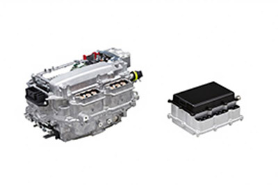 On the left is the old power control unit and on the right is the new, smaller one