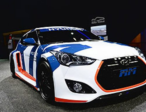 The Hyundai Veloster Mid-Engine Concept