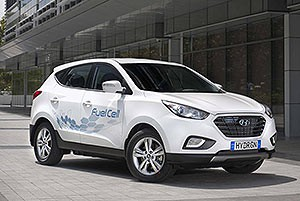 Hydrogen Powered ix35 Fuel Cell Arrives in Australia