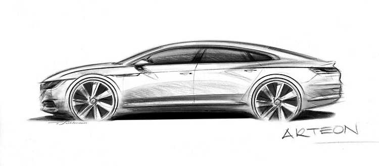 Volkswagen's new future - the VW Arteon