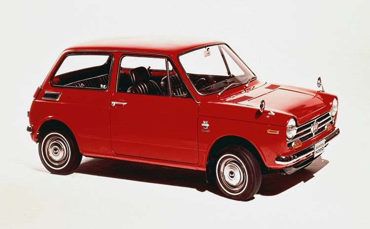 It was Australia's cheapest car - the Honda N360 sold here as the Honda Scamp