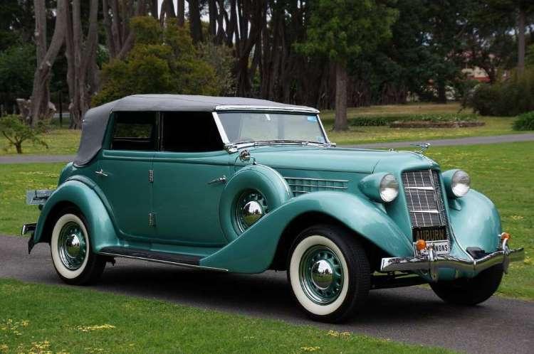 1936 Auburn 653 Phaeton
