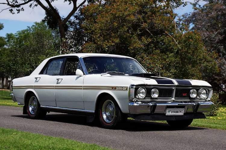 1971 Ford XY GT Falcon 351 V8