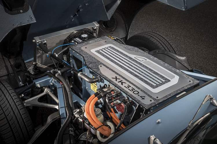E-type Jag 220kW electric motor